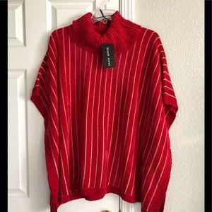 Black River woman's NWT soft sweater ponchos ( M,L